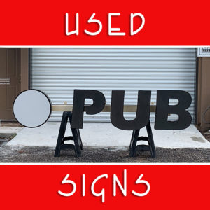 Refurbished & Previously Owned Signs